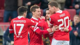 Malli doubles up as Mainz defeat Leverkusen