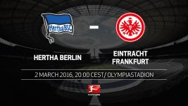 Frankfurt due for Hertha test in the capital
