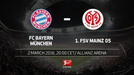 High-flying Mainz out to test Bayern in Munich
