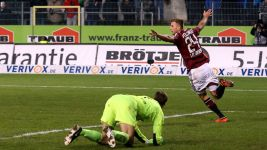 Nürnberg keep up the promotion chase with Sandhausen win