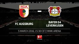 Augsburg aim to avert slide as Leverkusen come calling