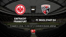 Frankfurt hope for home fillip with Ingolstadt in town
