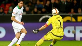 Hat-trick hero Pizarro puts Leverkusen to the sword