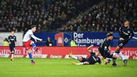 Müller at the double as Hamburg down Hertha