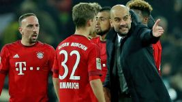 Kimmich's intense Pep talk!