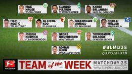 MD25: Team of the Week