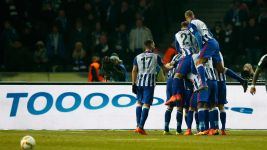 Hertha beat Schalke to gain advantage in European