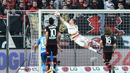 Leverkusen keeper Leno: 'I'm happy I could save a few'