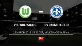 Wolfsburg welcome struggling Darmstadt