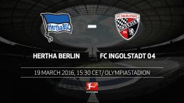 Hertha out to sustain European push against Ingolstadt