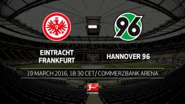 Frankfurt and Hannover meet in relegation six-pointer
