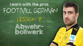 Football German: Lesson 8