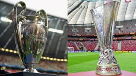 UCL and UEL quarter-final draws - as they happened