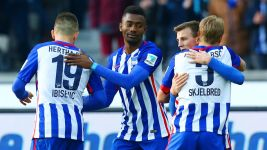 Hertha one step closer to Europe after Ingolstadt win