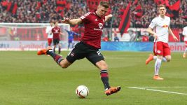 Nürnberg beat Leipzig to blast open title race