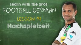 Football German: Lesson 14