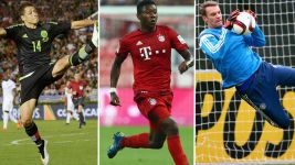 Bundesliga stars on international duty