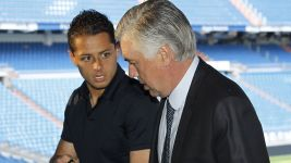 Chicharito meets Ancelotti in Vancouver