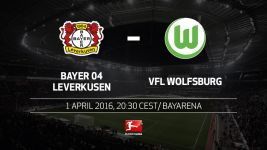 European spots at stake as Leverkusen host Wolfsburg