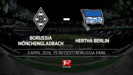 Champions League aspirants Gladbach and Hertha collide