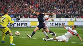Leaders Bayern too strong for Stuttgart
