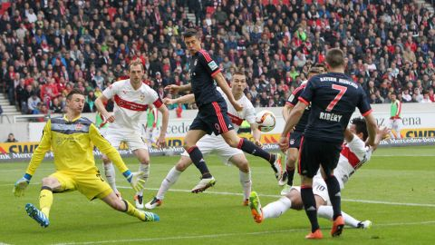 Previous meeting: Stuttgart 1-3 Bayern