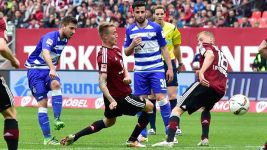Rock-bottom Duisburg stun Nürnberg