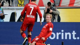 Leverkusen's Julian Brandt: 'A big step towards Champions League'