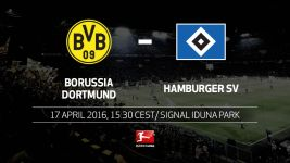 Dortmund host bogey side Hamburg