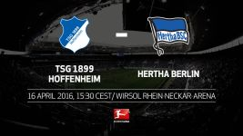 Hertha Berlin face tough test at in-form Hoffenheim