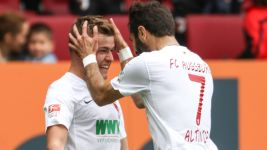 Finnbogason strike enough for Augsburg to beat Stuttgart