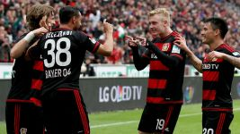 Clinical Leverkusen sink struggling Frankfurt