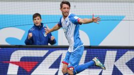 Hoffenheim's Uth strikes late to break Berlin hearts