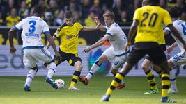 USA's Pulisic stars as Dortmund down Hamburg