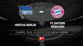 Bayern hoping to wrap up title at Hertha