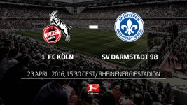 Köln and Darmstadt eyeing survival on Matchday 31