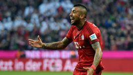 Vidal on fire