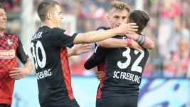 Freiburg on the verge of promotion after Duisburg win