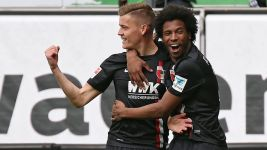 Augsburg edge closer to safety with Wolfsburg win