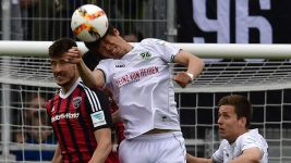 Hannover claim valiant draw at Ingolstadt