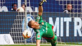 "Leverkusen keeper Leno: ""Second half was outstanding"""