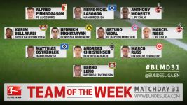 MD31 Team of the week