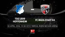 Hoffenheim welcome Ingolstadt and target top-flight survival