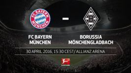 Bayern aiming to wrap up title when Gladbach come calling