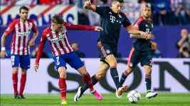 Bayern stumble in first leg away to Atletico