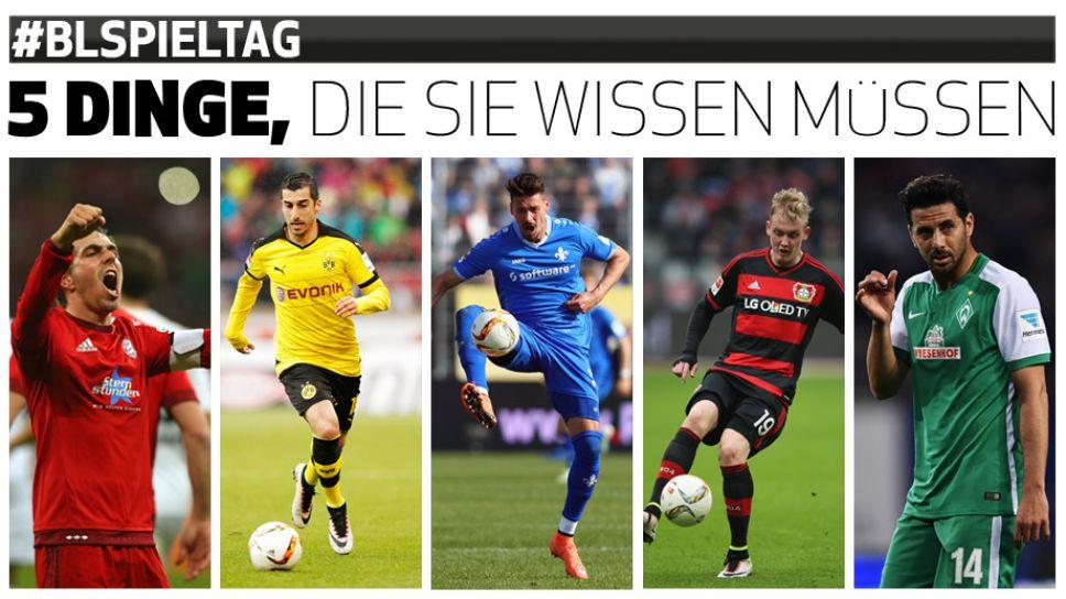 Bundesliga Spieltag 32