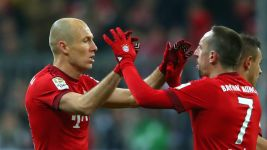 Robben optimistic on comeback but Ribery a doubt for Atletico