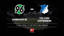 Hoffenheim look to secure safety in Hannover