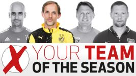Team of the Season: Tuchel beats Guardiola in head coach poll