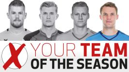 Team of the Season: Neuer sweeps the board in goalkeeper vote